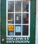 Highway Division Door