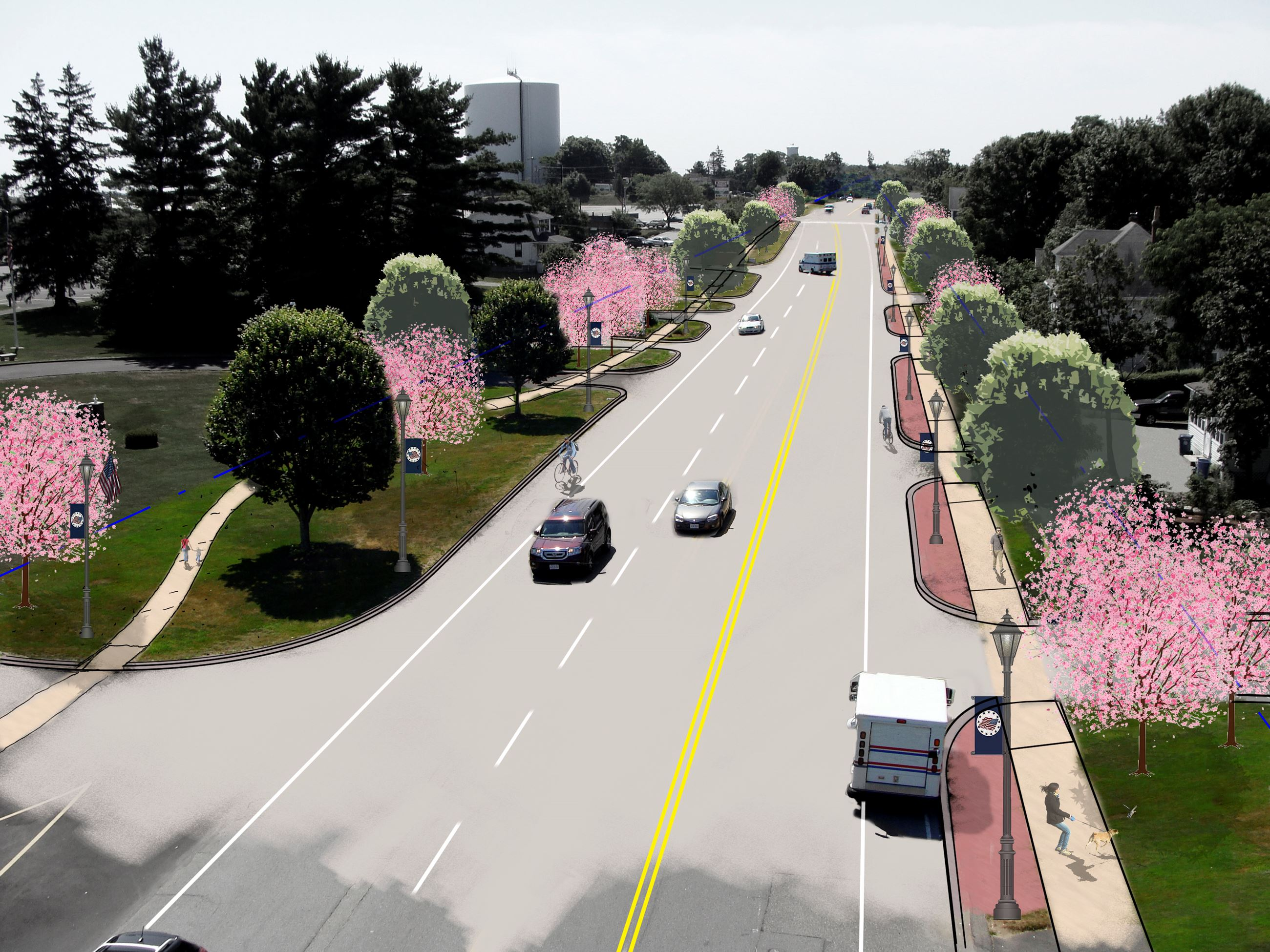 Boston Road South Rendering