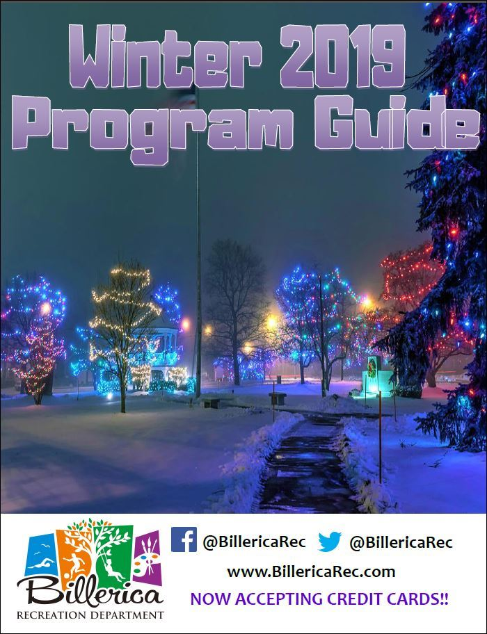 2019 Winter Recreation Guide cover